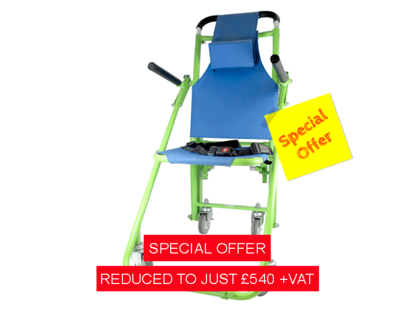 STANDARD EVAC CHAIR ONLY £540 + VAT