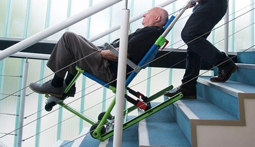 evacuation-chair-excel-on-stairs